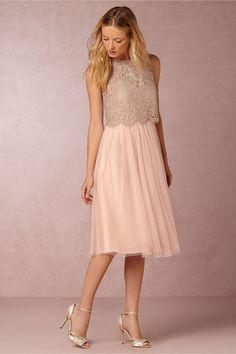 BHLDN Maia Dress in Bridesmaids Bridesmaid Dresses Short at BHLDN