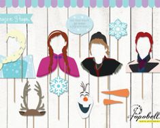 frozen photo booth - Google Search
