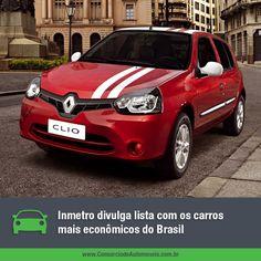 Quais são os carros mais econômicos do Brasil? Acesse nossa matéria e confira: https://www.consorciodeautomoveis.com.br/noticias/inmetro-divulga-lista-com-os-carros-mais-economicos-do-pais?idcampanha=206&utm_source=Pinterest&utm_medium=Perfil&utm_campaign=redessociais