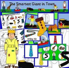 The pack includes DISPLAY Displaybanner- a long colourful banner for your display Displayborder- a colourful themed border to print out as many times Literacy Activities, Activities For Kids, Talk 4 Writing, Story Sack, Traditional Tales, Display Banners, Jack And The Beanstalk, School Lessons, Eyfs
