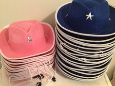 Cowgirl/Cowboy Hats for the children