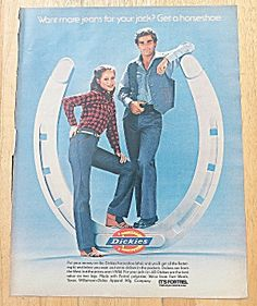 1979 Dickies With Couple In Jeans