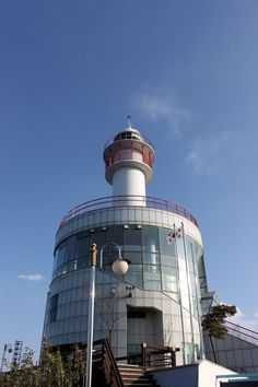 Sokcho Lighthouse Observatory, #Sokcho #Korea: The Sockcho Lighthouse Observatory provides fantastic views of the nearby Seoraksan Mountains, East Sea and Sokcho area. The most breathtaking views are the ocean vistas.