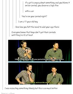 Oh my god how do we have a gif for THAT?<<<WE ARE SUPERNATURAL FANS HOW DO WE NOT<<lol