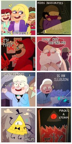 Gravity falls [repost] RIGHT IN THE FEELS