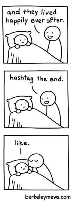 Modern bedtime story.