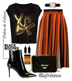 """""""Sin título #391"""" by afritaoo on Polyvore featuring Givenchy, Gianvito Rossi, Red Herring, Chanel y Yves Saint Laurent"""