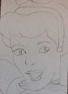 Disney Cinderella Drawings