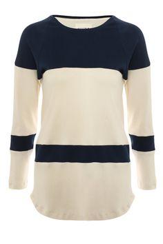 Oscar/ raglan sleeved tshirt / organic cotton tshirt / by RIYKA