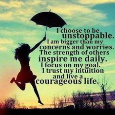 Courageous life | Quote