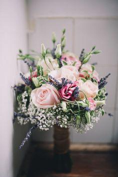 "Lavender Rose Gypsophila Bouquet Flowers Bride Bridal Beautiful Relaxed Summer Blush Wedding <a href=""http://jenmarino.com"" rel=""nofollow"" target=""_blank"">jenmarino.com/</a>"