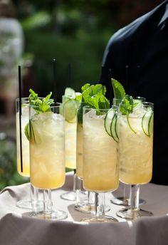 Wedding cocktail. A Napa wedding photo taken by Catherine Hall Studios