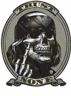 Skull art - All Around Art Pictures Biker Tattoos, Skull Tattoos, Money Tattoo, Totenkopf Tattoos, Skull Wallpaper, Usmc Wallpaper, Biker Quotes, Skull Artwork, Skull Tattoo Design