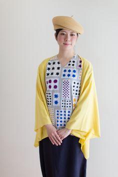 袖なしジバン/大雪(たいせつ) - SOU・SOU netshop (ソウソウ) - 『新しい日本文化の創造』