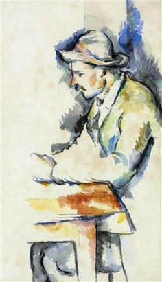 Paul Cezanne - Joueur de cartes