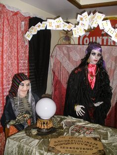1000 Images About Halloween Seance Room On Pinterest