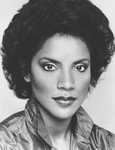 A young and beautiful Phylicia Rashad.
