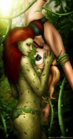 Harley and Ivy - 'Venus' by Metal-Panda-Alex.deviantart.com on @deviantART