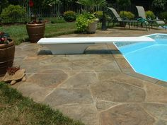 stamped concrete pool deck - Yahoo! Search Results: