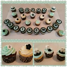 Retirement cupcakes! My mother in law retired from a dental office so I made these!