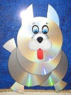 Para a semana do Meio ambiente, nada melhor que reciclar!   Veja estas sugestões de reciclagem com cd usado. São ótimas e os animais ...