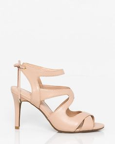 Leather-Like+Gladiator+Sandal