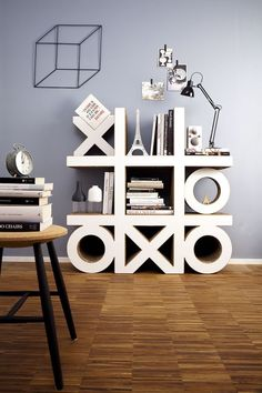 About ecological sustainability, crafts with cardboard and cardboard furniture- 60 recycling ideas - Decoration Top Diy Cardboard Furniture, Diy Furniture Projects, Cardboard Crafts, Home Furniture, Furniture Design, Cardboard Design, Nachhaltiges Design, Rack Design, Interior Design