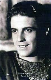Ramon Novarro, silent and sound movie star , cousin of actress Dolores del Rio 1899-1968