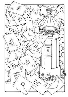 Mailbox By Dandi Palmer - (edupics)