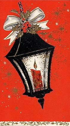 Old Christmas Post Сards — (503x900)