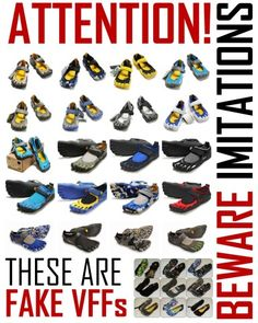 The Guide to Spotting Fake/Counterfeit Vibram Five Fingers