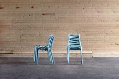markus johansson design studio's loop chair at salone satellite