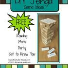 Learn how to take Jenga and turn it into the ultimate learning tool.  Inside you'll find a few ideas for reading, math, parties, and getting to kno...