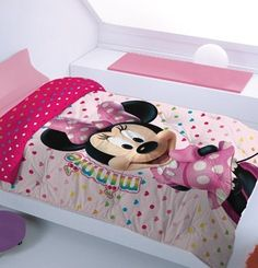 Duvet Disney Minnie Boy And Girl Shared Room, Boy Or Girl, Toddler Playroom, Toddler Bed, Teen Bedroom, Bedroom Decor, Bedspreads, Rivers, Duvet
