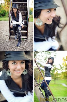 Fun poses for senior or other shoots! Creative angles