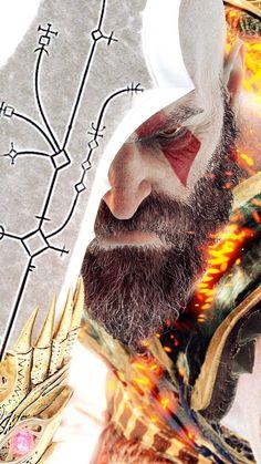 #godofwar #kratos #iphone #wallpaper