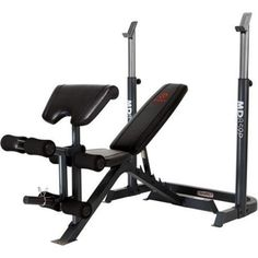 Weight Bench Adjustable 2 Piece Home Gym Strength Building High Density NEW #WorkoutBench