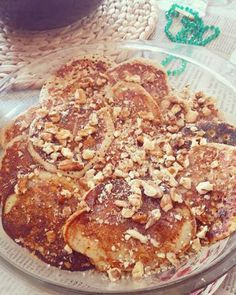 Pancakes με μπανάνα & βρώμη Weight Watchers Meals, Sweet Life, French Toast, Pancakes, Sweets, Breakfast, Recipes, Food, Morning Coffee