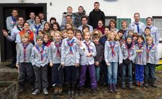 Brownies and Cubs from Germany (VCP) #Thinking Day