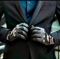 Leather Driving Gloves, Leather Gloves, Men's Gloves, Masquerade, Video Games, Black Leather, Elegant, Dress, Style