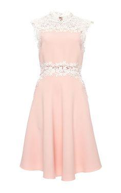 Sleeveless Double Crepe Cady Dress by Giambattista Valli for Preorder on Moda Operandi