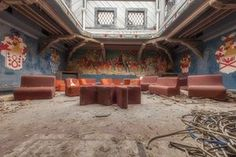 Abandoned Italian buildings photographed by Eleonora Costi.