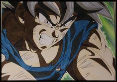 Goku Dragon Ball Super by Akaw