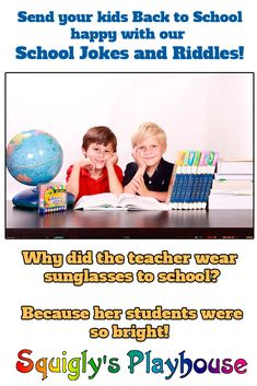 Funny back to school jokes and riddles for kids by kids