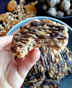 Fit ovsené marokánky - Barbora Gamanová Healthy Desserts, Dessert Recipes, Healthy Recipes, Low Carb Recipes, Cooking Recipes, Yummy Eats, Christmas Baking, Food Inspiration, Good Food