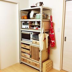 My Shelf/IKEA/ハンドメイド/DIY/スチールラック/marimekko...などのインテリア実例 - 2016-02-13 15:52:54 | RoomClip (ルームクリップ)