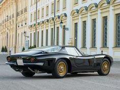 1966 Bizzarrini 5300 GT Strada   327 Corvette engine   V8, 5,358 cm³   350 bhp   Design: Giotto Bizzarrini