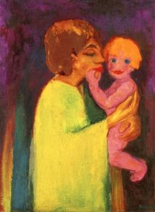 Mother and Little Son - Emil Nolde - The Athenaeum