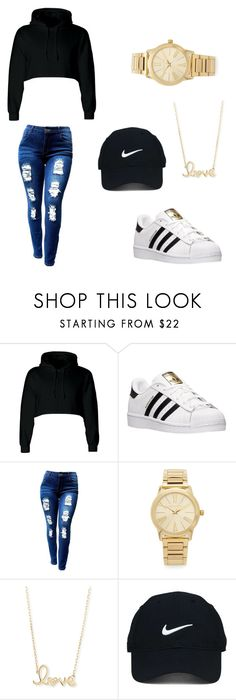"""""""Untitled #11"""" by xbbygirlbrix ❤ liked on Polyvore featuring adidas, Michael Kors, Sydney Evan and Nike Golf"""