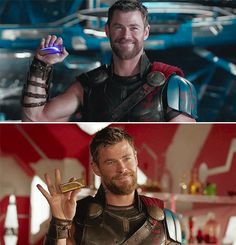 """His face is like """"I got the zap zap thingy bitch"""" - Marvel Universe Marvel Characters, Marvel Movies, Movie Characters, Marvel Dc Comics, Marvel Avengers, Boys Lindos, Strongest Avenger, We Have A Hulk, Chris Hemsworth Thor"""